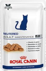 Neutered Adult Maintenance