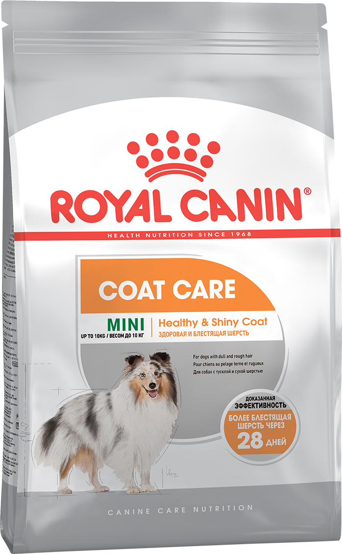 ROYAL CANIN Mini Coat Care - Корм для собак с тусклой и сухой шерстью