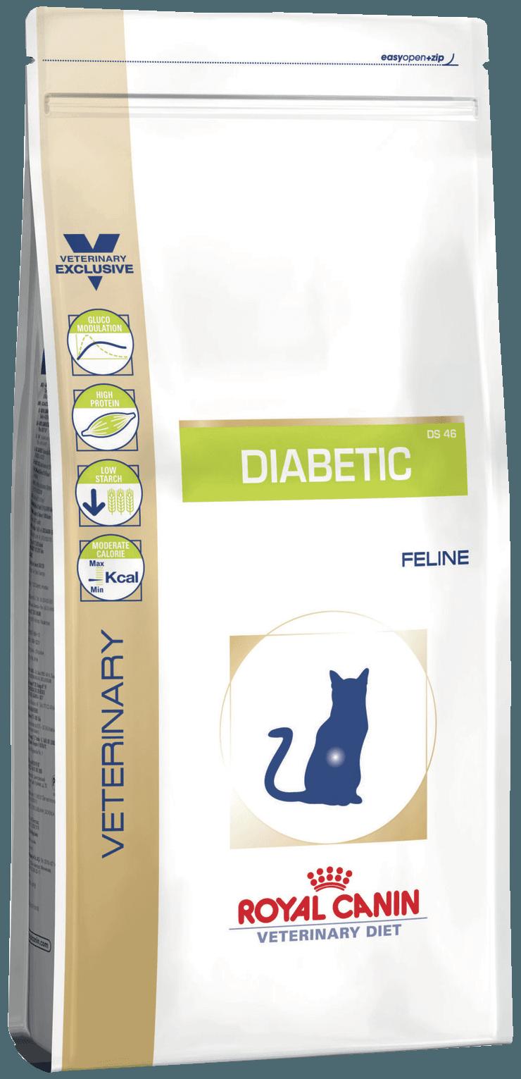 Корм при сахарном диабете кота