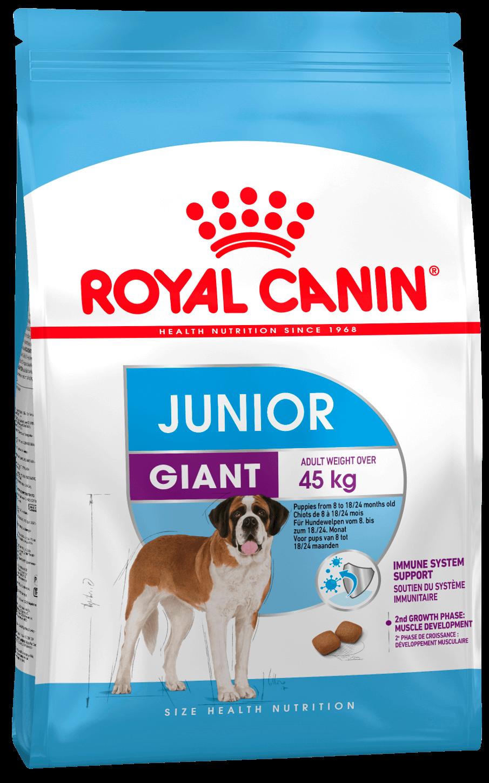 ROYAL CANIN Giant Junior - Корм для щенков с 8 до 18/24 месяцев