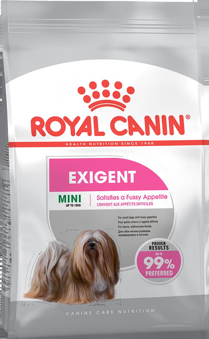 ROYAL CANIN Mini Exigent - Корм для собак, привередливых в питании