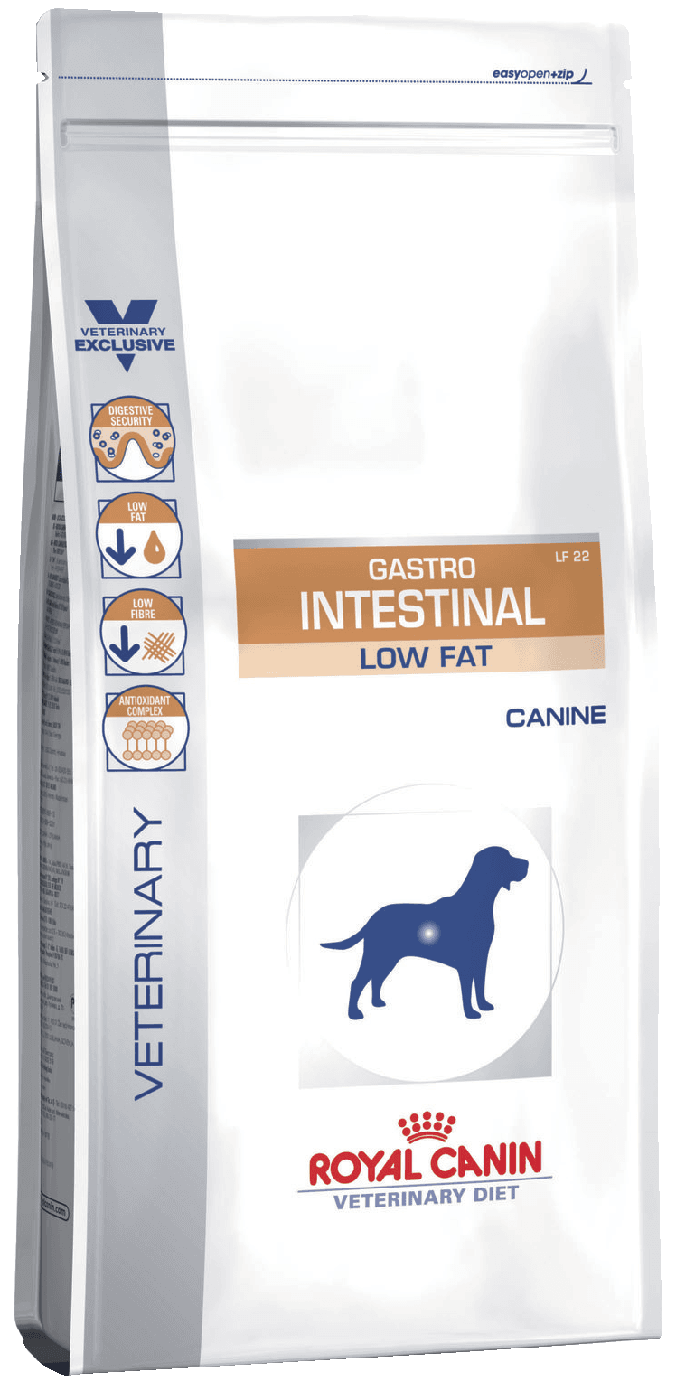 ROYAL CANIN Gastro Intestinal Low Fat LF22 - Диета с ограниченным содержанием жиров для собак при нарушении пищеварения