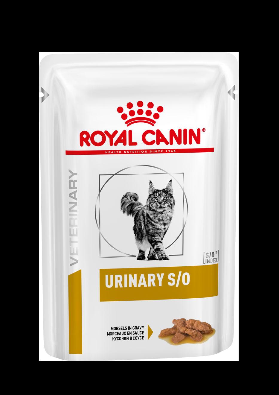 ROYAL CANIN Urinary S/O (пауч, с курицей) - Диета для кошек при заболеваниях дистального отдела мочевыделительной системы