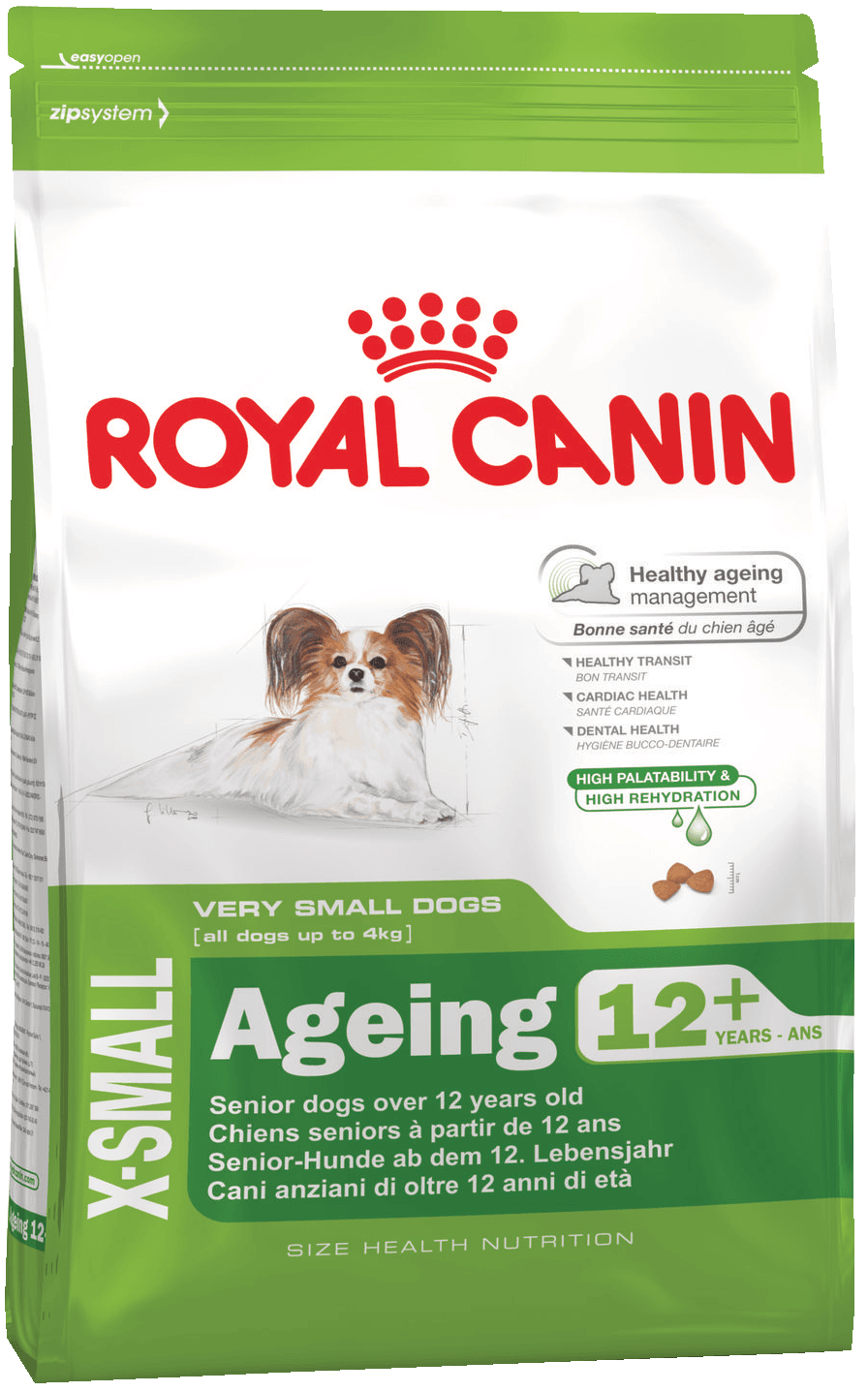ROYAL CANIN X-Small Ageing 12+ - Корм для собак старше 12 лет<br>