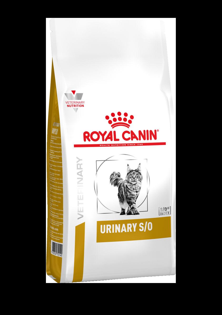 ROYAL CANIN Urinary S/O - Диета для кошек при заболеваниях дистального отдела мочевыделительной системы